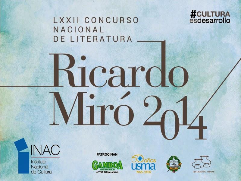 El concurso Ricardo Miró, sección cuento, se declaró desierto.